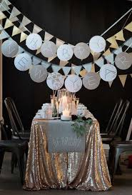 Decorating: New Year Eve Party Ideas - New Year Decorations