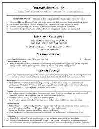Nurse Resume Nurse Resume New Nurse Resume Examples Free Resume