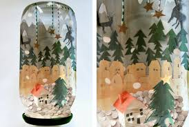Decorated Jam Jars For Christmas Create A Wondrous Winter Wonderland In A Jam Jar 21