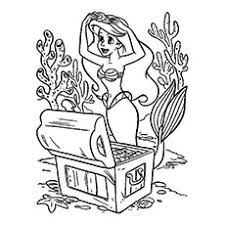 Coloring Pages Awesome The Little Mermaid Coloring Image