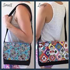 10 Free Purse Patterns - On Craftsy! & 3 - Serger Pepper 4 Craftsy - free handbag patterns - good to go messenger  bag Adamdwight.com
