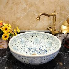 Bathroom Sinks Bowls Compare Prices On Bathroom Sink Bowls Antique Online Shopping Buy
