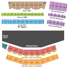 Cheyenne Civic Center Seating Chart Cheyenne Frontier Days 2020 Tickets Concerts Rodeo
