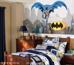 Batman And Spiderman Inspired Bedroom Decorating Ideas For Childrenu0027s  Bedroom : Super Hero Themed Batman Bedroom