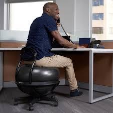 Office Ball Gaiam Ultimate Balance Ball Chair Ergonomic Ball Chair
