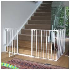 baby gates for bottom of stairs with banister safety at bottom of