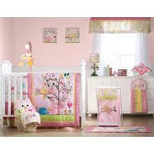 jacana bedding set pink owl crib bedding sets for baby girls cocalo baby jacana crib bedding