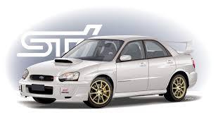 2004 Subaru WRX STI in White by CRWPitman on DeviantArt