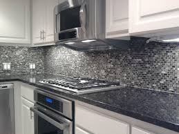 kitchen back splash glass mosaic tile contemporary kitchen