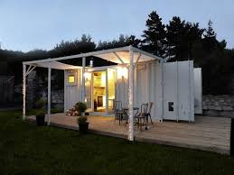Full Size of Garage:houses Made From Shipping Containers Conex Box House  Freight Container Sea ...