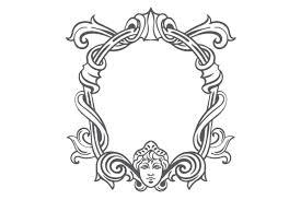 Vintage frame design png Wedding Card Logo Design Vintage Frame Design Creative Fabrica Vintage Frame Svg Cut File By Creative Fabrica Crafts Creative Fabrica