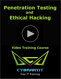 online penetration testing and ethical hacking video  online penetration testing and ethical hacking video training course cybrary it video training course