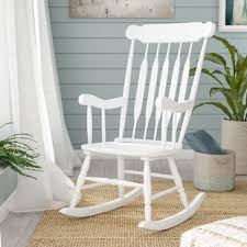 white rocking chair. Exellent Chair Quickview Inside White Rocking Chair W