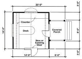 home office plans. 14\u0027x14\u0027 Office Addition For One And Two-Story Homes - Project Plan Home Plans