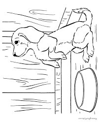 Cute Puppies Coloring Pages Puppy Dog Page 012 Picture To Color