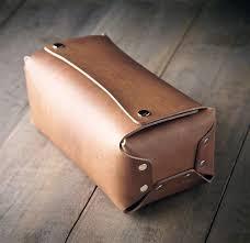 men s toiletry kit leather toiletry kit dopp kit travel by mrlentz