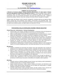 Entry Level Profile Examples For Resumes Resume In Samples Jobs 17
