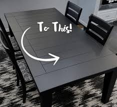How to refinish a dining room table Painted How To Refinish Dining Room Table Set Behr Diy Painted Dining Room Table Refinishing Project Behr