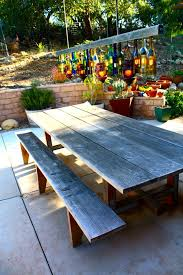eclectic outdoor furniture. eclectic outdoor lighted displays patio with container plants side tables and end furniture c