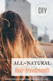 diy all natural hair treatments
