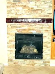 stone tile fireplace surround rock for plain design river firep
