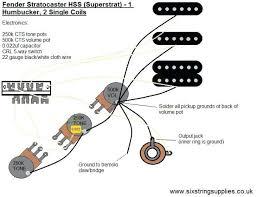 fender hss strat wiring diagram 1 vol tone electrical engineering strat bridge t one wiring diagram wiring diagramhss strat wiring diagram 1 volume tone fender noiseless