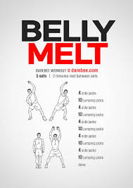 belly melt workout find the best exercise for fat