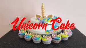 Diy Unicorn Cake Cupcakes Kit Youtube
