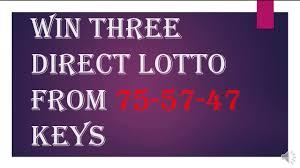 Baba Ijebu Lotto Chart How To Win Lotto From Three Direct Key 75 57 47