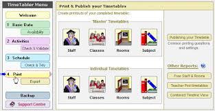 Make A School Timetable Online Free Timetabling Software For Schools Timetabler