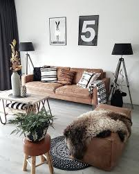 Woonkamer Inspiratie Living Room Interior Stoere Leren Bank