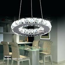 modern chandelier lighting fixtures 1 circle diamond ring led re modern chandelier lighting fixtures 1 circle