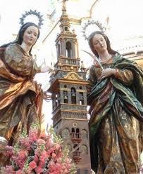 Resultado de imagen de santa justa y rufina triana