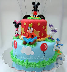 11 Mickey Mouse Party Cakes Photo Mickey Mouse Clubhouse Birthday