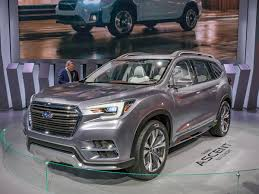 2018 subaru ascent. interesting 2018 although there are clear family ties between the viziv7 and ascent  concepts subaru says this latest edition offers a more productionready version of  throughout 2018 subaru ascent