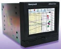 Honeywell Tvezqx 61 6 Channel Paperless Chart Recorder Measures Current Millivolt Resistance Temperature Voltage