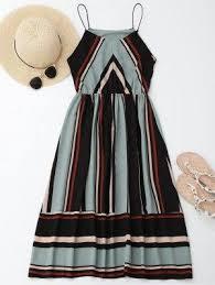 ZAFUL отзывы - Много-Полосатое Мини <b>Платье</b> Камуфляж ...