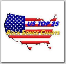 Us Top25 Rock Songs Charts 21 01 2012 Mcg Scenesource