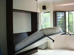 hidden beds in furniture. Small Spaces Contemporary Murphy Beds All Designrhcassidydianacom Hidden Bed Under Floor Furniture Furniturerhikfekccom For In