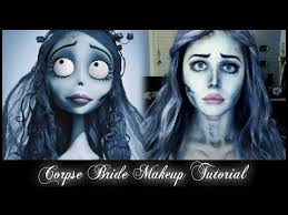 corpse bride emily makeup tutorial