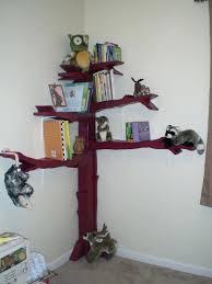kids corner shelves building a corner bookshelf the finished and stocked tree  bookshelf ideas for small