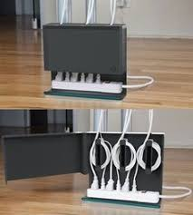 For UK plugs I guess the sockets panel would need to be attached to the  back of the cabinet. This looks so neat.