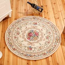 round dornier jacquard simple countryside carpet for living room flower bedroom rugs and carpets door mat coffee table area rug