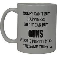 Mug is for hot or cold items and holds up to 12 ounces. Amazon Com Gun Lovers Mug Guns Matter Nra Gun Control Related Themed 11 Or 15 Oz Black Best Inappropriate Sarcastic Mugs Ceramic Coffee Cup With Funny Sayings Kitchen Dining