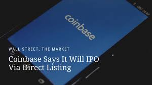 In december 2020, there was widespread anticipation that the exchange would go public with an initial. Coinbase Says It Will Ipo Via Direct Listing Youtube