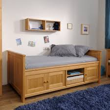 cool solid pine frame under storage kids bedding twin with
