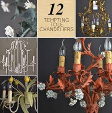 12 tempting tole chandeliers designsponge pertaining to awesome chandeliersantique tole chandelier vintage strawberry french chandeli