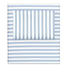 blue and white striped sheets. Plain White Bedroom Inspiration And Bedding Decor  The French Blue Striped Sheet Sets  Crane Canopy Inside And White Sheets D