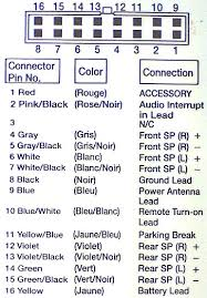 wiring diagram sony car radio the wiring diagram 16 pin stereo harness diagram 16 printable wiring diagrams wiring diagram