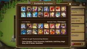 new summoning stone rotation! summonerswar Summoners War Surprisr Box Fuse newsnew summoning stone rotation!